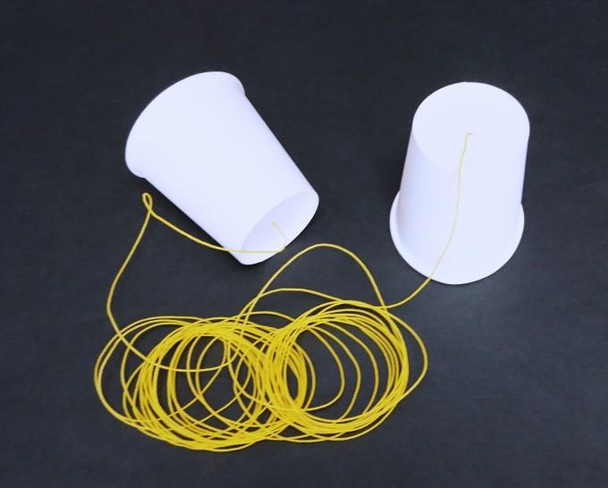 親子ワークショップ「音のフシギを科学しよう!超長~い糸電話は聞こえるか!?」
