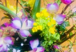 花育講座1「親子で作る ひな祭りのフラワーアレンジメント」