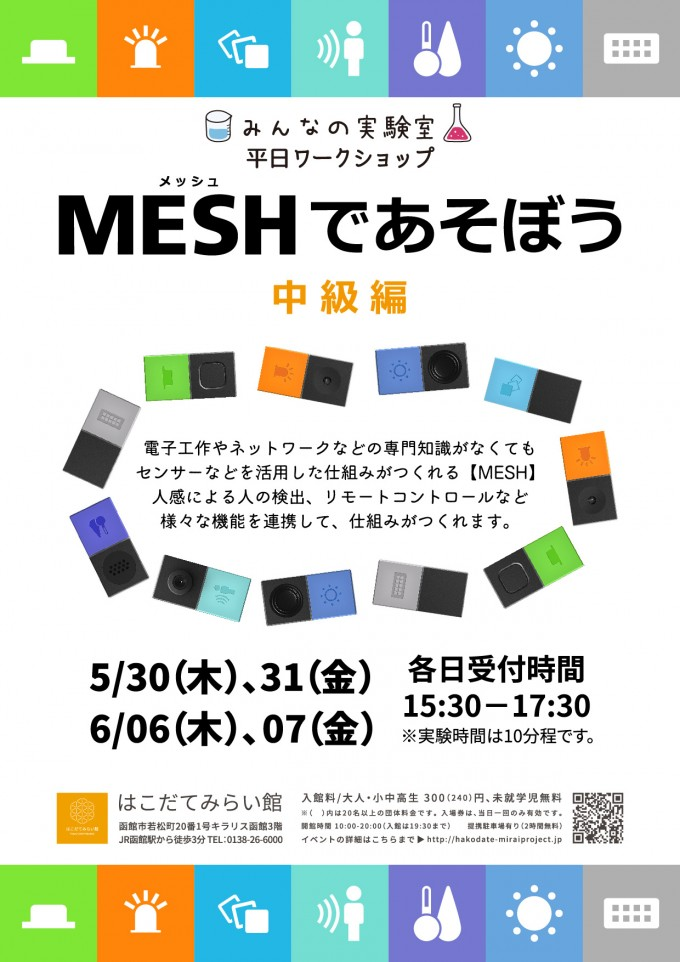 みんなの実験室「MESHであそぼう」
