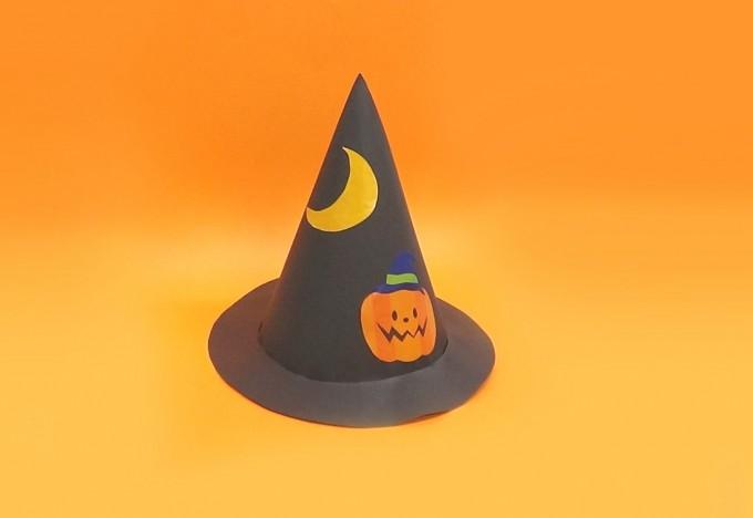 ハロウィン工作~魔女の帽子~