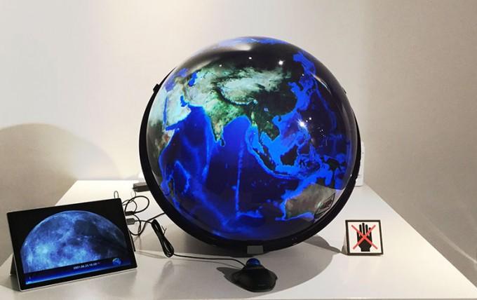インタラクティブ地球儀SPHEREワークショップ