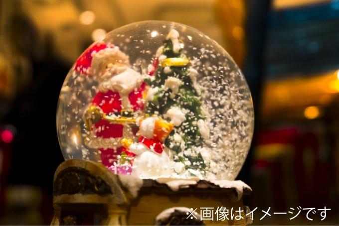 クリスマススノードーム
