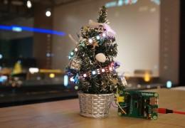 フルカラーLEDでツリー飾りを作ろう!supported by PCN函館