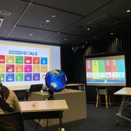 デジタル地球儀SPHEREで地球の未来を考える「私たちが生きる地球について考えよう」EARTH DAY HAKODATE