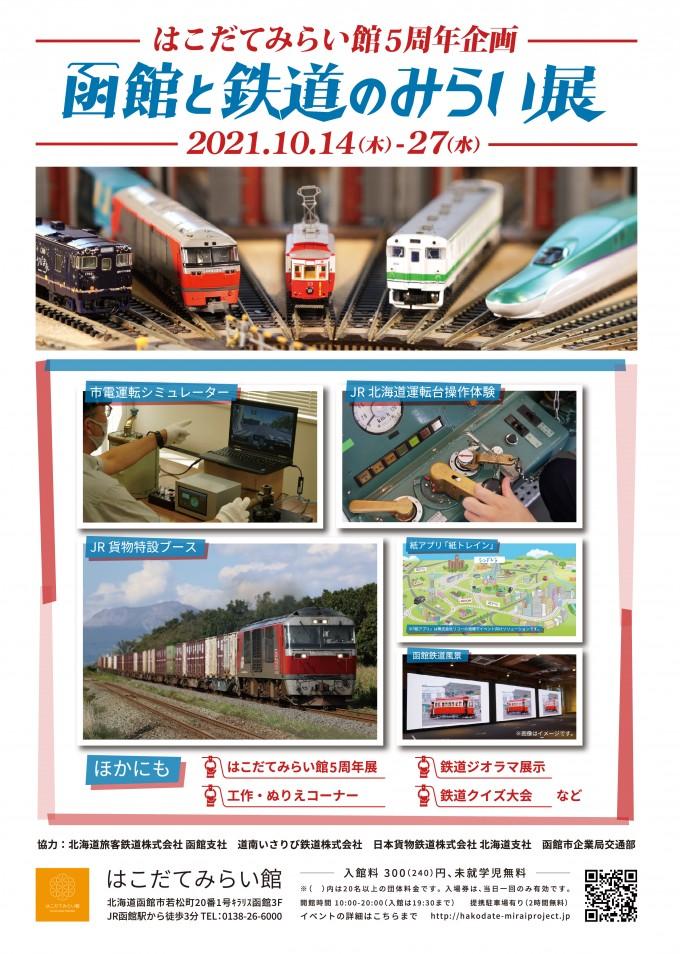 函館と鉄道のみらい展