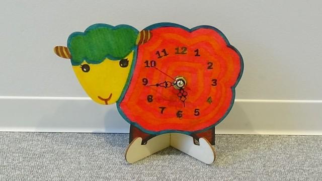 ワークショップ~オリジナル置時計を作ろう~