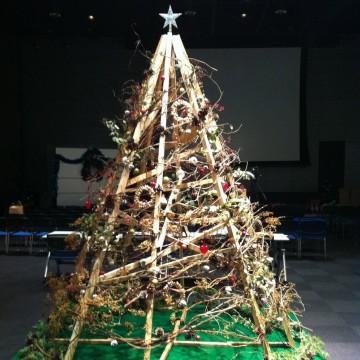 みんなでつくる みらいのクリスマスツリー 〜函館の自然でかざろう〜